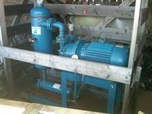 unused SIHI Vacuum Pump Skid