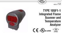 Integrated Flame Scanner and Te