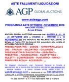 auction program in October Nove