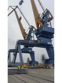 Crane to port
