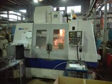 Vertical machining center with