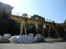 40 ton rack mounted crane