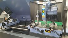 automatic sawing machine for al