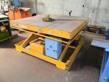 TABLE hydraulic RAISABLE