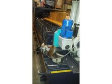 Profiling machine for flanges