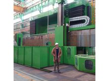Vertical lathe CNC 6000 tool wa