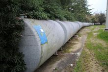 Storage tanks for water