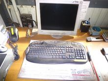 Stampante Hp e computer