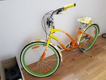 Tubular tricycle and bicycle de