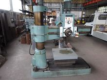 Metal cabinet with radial drill