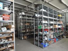 Double-sided shelves Scaff Syst