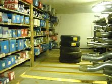 Spare parts for vehicles and ty