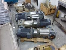 Three-phase electric pumps