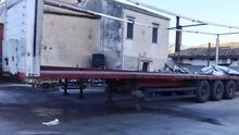1997 Flatbed semi-trailer Schmi
