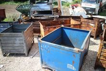 Crates and bucket