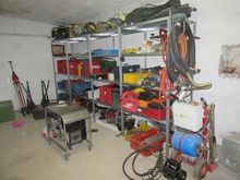 Hilti drills and different equi