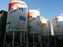 Plaster silos