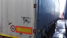 2001 Curtainsider semi-trailer