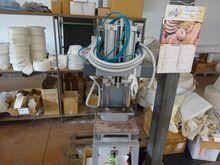 Pressa idraulica per stoffa