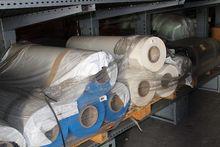 Coils of semi-rigid plastic mat