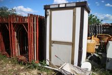 Used Chemical toilet