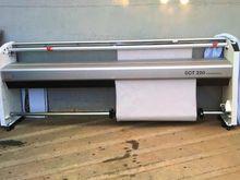 Textile plotter printer