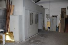 Rapid curing booth