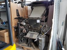 Linotype with keyboard