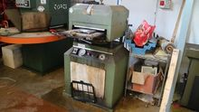 Plater stamping machine and bru