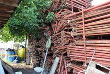 Steel elements for scaffolding