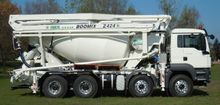 MAN TGS 41.400 8x4 Mixer and pu