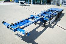 Container chassis Semitrailer 6