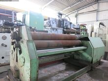 Plate Bending Machine - 3 Rolls