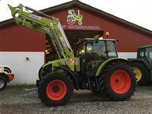 2015 CLAAS AXOS 330 WITH FRONT