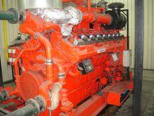 2 x 633 kW Gas Generators Guasc