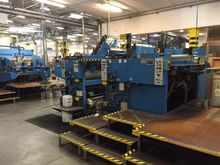 1971 Bobst SPO 1575 Cutting and