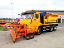 Kamaz 2016 6x4 plow - gritter