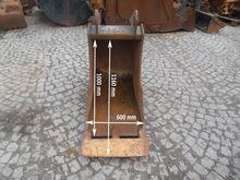 Bucket Backhoe ZEPPELIN ZM 12 1