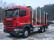 2010 SCANIA R500 6x4 timber tra