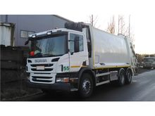 2012 Scania Garbage Truck 6x2 E
