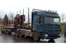 2007 MERCEDES 26480 6x4 timber