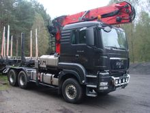 2011 MAN TGS 26.480 6x6 for log