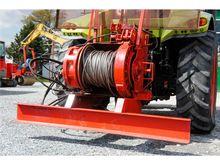 Poclain forestry tractor hydrau