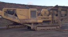 Extec C12 Tracked Jw Crusher