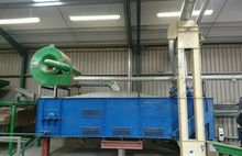 Biomass pelleting system wood p