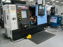 Doosan Lynx 220LMA Used CNC Tur