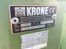 1998 KRONE AMT 323 CV