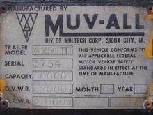 1977 MUV-ALL 42 X 96