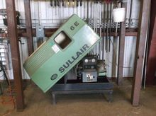 1993 SULLAIR 6E 10HP ROTARY SCR
