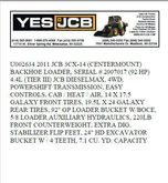 Used 2011 Jcb 3CX 14